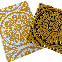 Block Print Stamps for textile and paper printing, Online Shop New Delhi