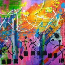 Musik  142 x 159 cm