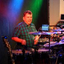 Ledenschaftlicher Schlagzeuger: Werner Hemmer