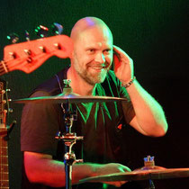 Schlagzeuger Raik Schneider machts Spaß
