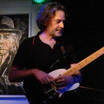 Mischt hier auch mit: Der Lauterer Gitarrero Michael Halberstadt