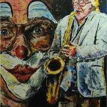 Handmade (Klaus Doldinger)  108 x 88 cm