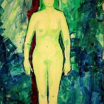 Nackte Frau (Mischtechnik auf Papier, 140cmx220cm ,400Euro)
