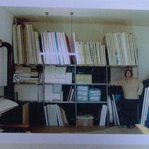 Armin Pangerl in Atelier
