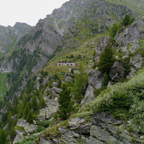 Baubaracken Susten-Illhorn 10.08.2014