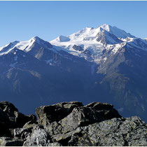 Augstbordhorn Mischabel und Riedgletscher
