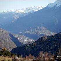 Blick nach Visp 12.11.2011
