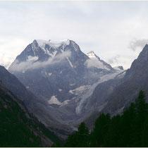 Arolla 03.09.2013 Mont Collon 3637m.