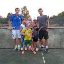 Unsere Jugentrainer Patrick Wiedner (links) und Christian Weinreich (rechts)