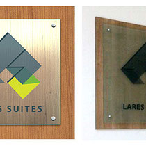 Lares Suites /  Big Signboard for the Office - 2014