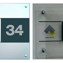 Lares Suites / Signboard for the Office - 2014