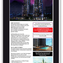 Metropolitan - Newsletter Design - 2014