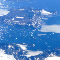 über Grönland