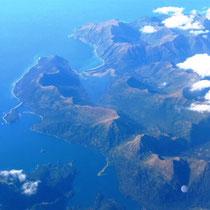 Küste Kenai Peninsula