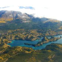 über dem Yukon