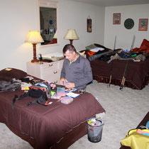 Rolando im Vorbereitungsstress