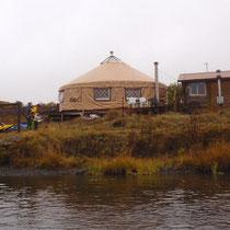 Yurte der Koniag Corp. bei Portage