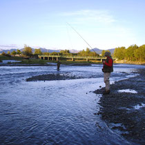 Kenai Flip am Ship Creek