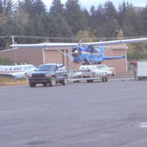 Transfer zum Wasserflughafen