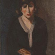 「自画像(伝)」(1928 年推定) ※自画像ではないのでは?という異論もある。