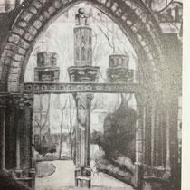 「庭園」(1931 年、朝鮮美展特選、日本帝展入選)
