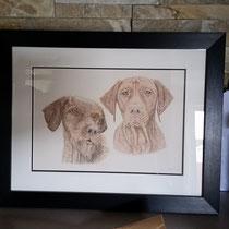 Bobby & Beau framed