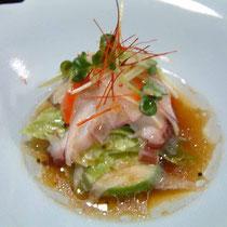 酢の物 蛸と夏野菜のサラダ