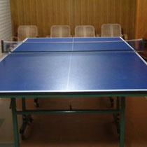 温泉と言ったら卓球、昭和の遊びで楽しんでやってください。