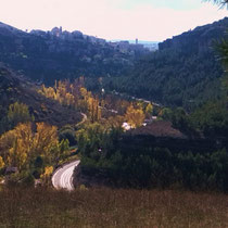 Landschaftsbild aus dem Umland von Cuenca