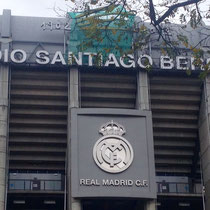 Das Santiago de Bernabeu-Stadtion, Clubhaus des FC Real Madrid
