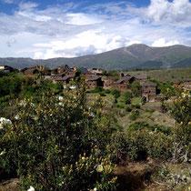 Schwarzes Dorf (gebaut aus Schiefer), Guadalajara