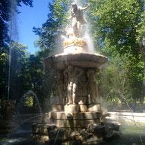 Fuente del palacio de Aranjuez