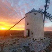 """die Mühle """"Sancho"""", Consuegra"""