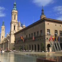 im Stadtkern von Zaragoza