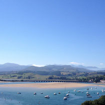 San Vicente de la Barquera, Cantabria - idyllischer Küstenort