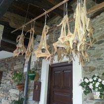 Cudillero, Asturias - getrockneter Stockfisch (bacalao)