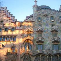 Bauwerk von Antonio Gaudí in Barcelona