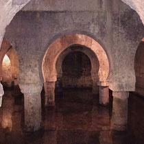Jahrhundertealte Wasserzysterne in Cáceres