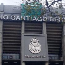 Ein weiteres Wahrzeichen der Stadt: das Santiago de Bernabeu-Stadtion, Clubhaus des FC Real Madrid