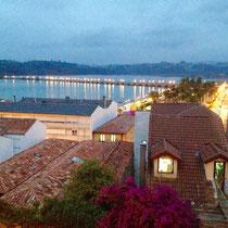 San Vicente de la Barquera, Abendstimmung