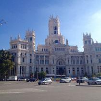 Madrids Rathaus, el Palacio de Comunicaciones