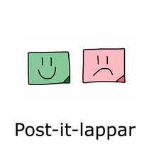 Post-it-lappar