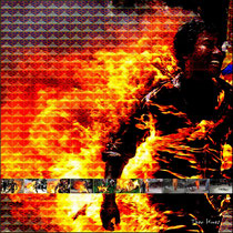 Theo Hues - Burning Tibet, 2012