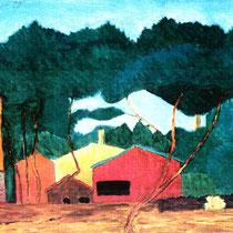 Norbert Grebner - Spanische Landschaft, Abb.: Galerie+Atelier Remise