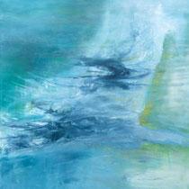 LUFT - Elvira Heimann - Acryl & Lasur, 130 x 120 cm