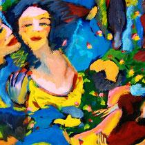 Marie von Jan - Inmitten Ihrer Welt 1993, Abb.: Galerie+Atelier Remise