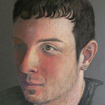 PAOLO pastello su carta cm 50x70 - COLLEZIONE PRIVATA -