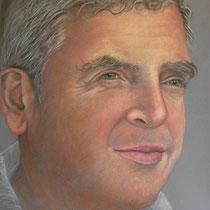 SERGIO pastello su carta Canson Mi-Teintes cm 50x70  anno 2011  - COLLEZIONE PRIVATA -