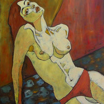 ANNA  olio su tela  cm 60x80  anno 1999