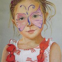 ELENA   pastello su carta Canson  cm 50x70  anno 2016